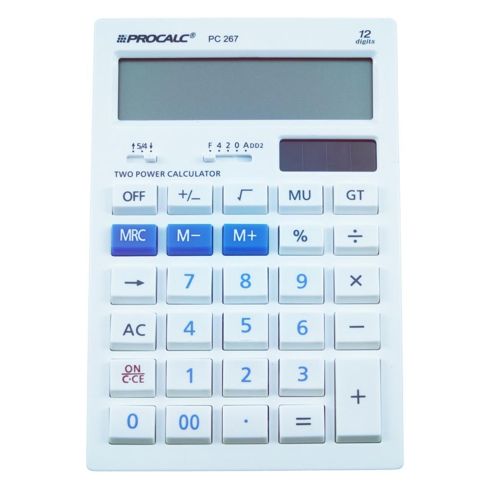 PROCALC  - Calculadora de Mesa - 12 dígitos -  PC267