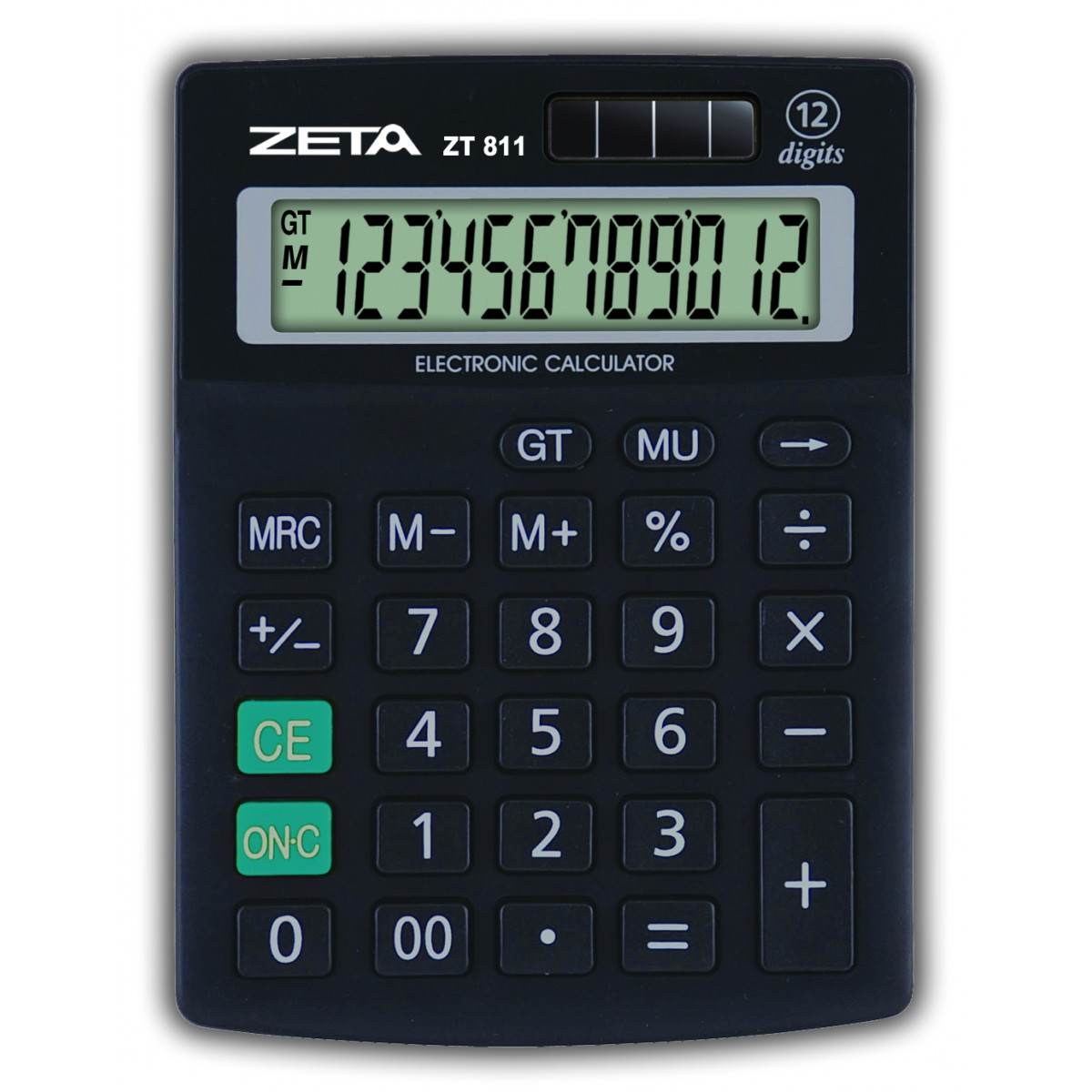 ZETA -  Calculadora de Mesa -  12 Dígitos - ZT811
