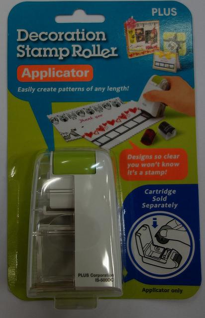 Aplicador para Carimbo Decorativo -  DECO ROLLER - PLUS JAPAN