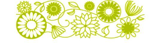 Carimbo Decorativo / Deco Roller - Flowers