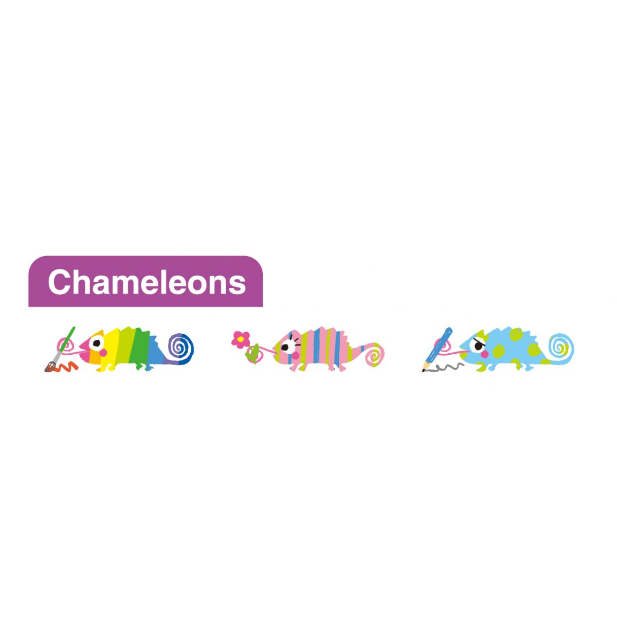 Fita Decorativa - Deco Rush - Chameleons 2 -PLUS