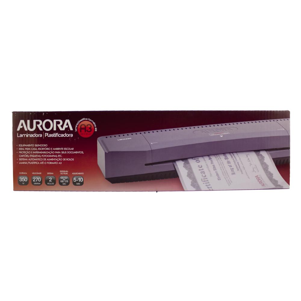 Plastificadora - A3 -  Aurora - 110V - LM3233H