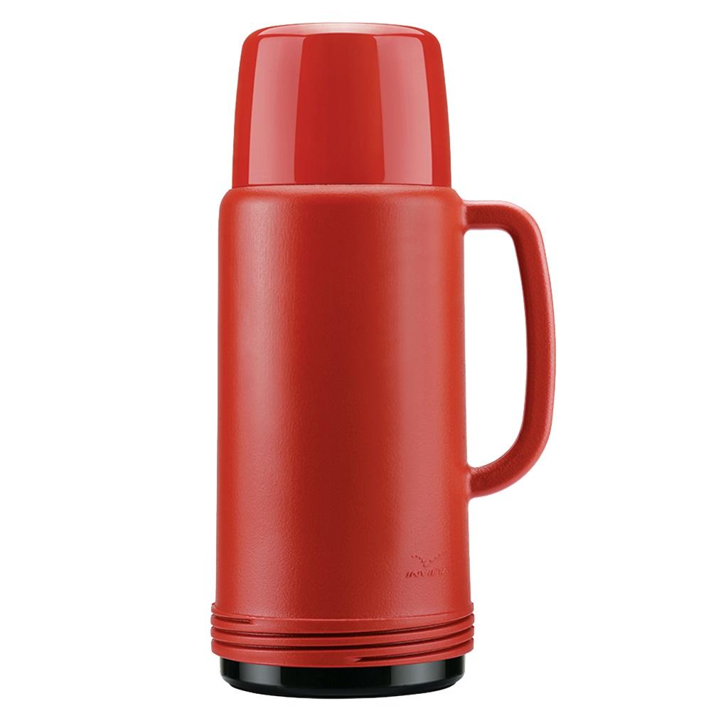 Garrafa Térmica Ideal 1L Vermelha