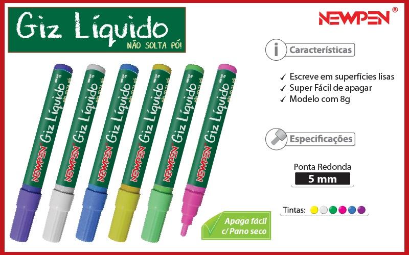 Giz Liquido Verde