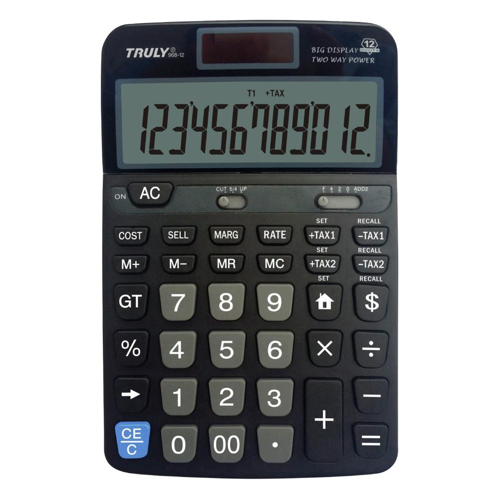 Calculadora de mesa 968-12 Truly 12 dígitos