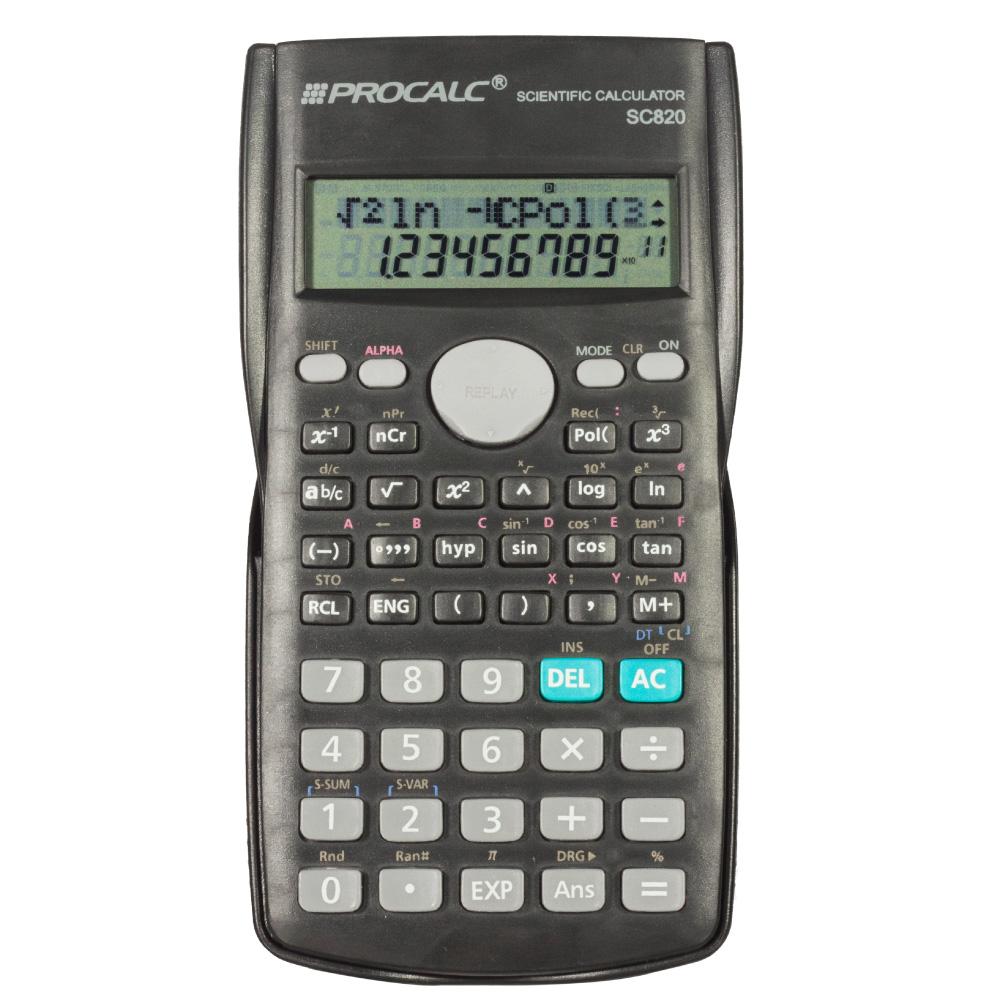 Calculadora Científica Procalc SC820