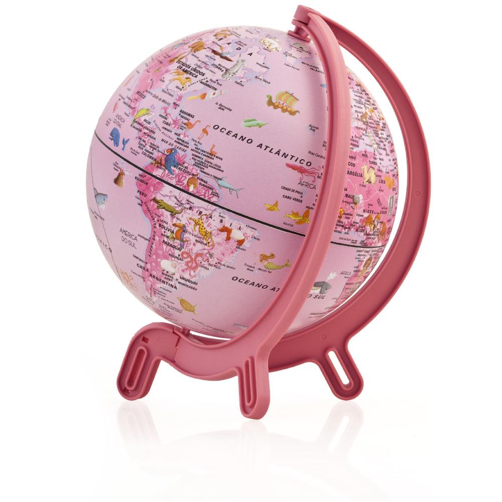 Mini Globo Giacomino Pink Zoo 16