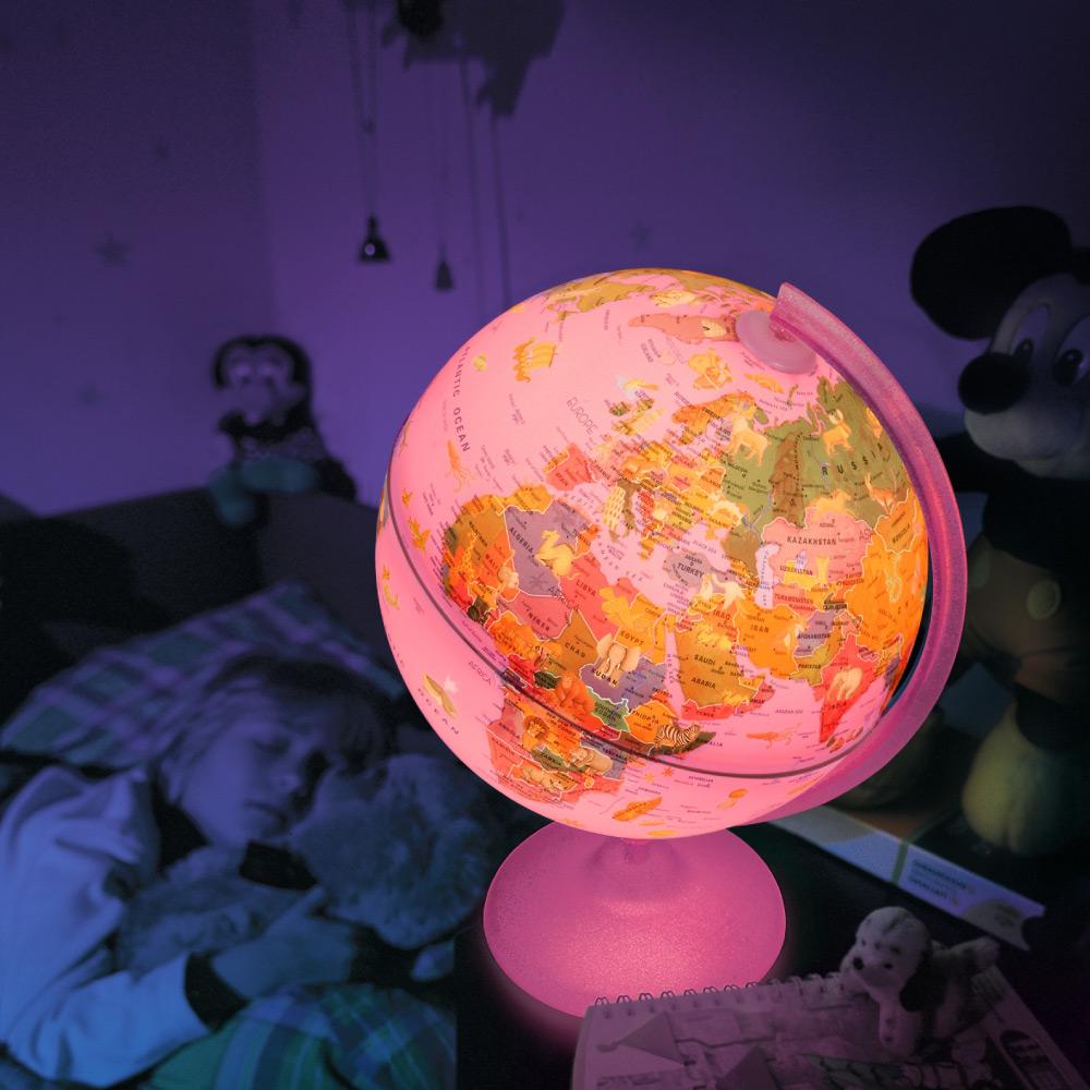 Globo Pink Zoo 25 LED iluminado