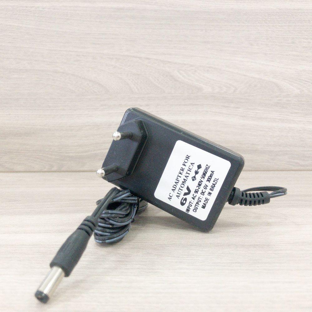 ADAPTADOR BIVOLT 6VDC 300 mAh - para LP18 e LP25