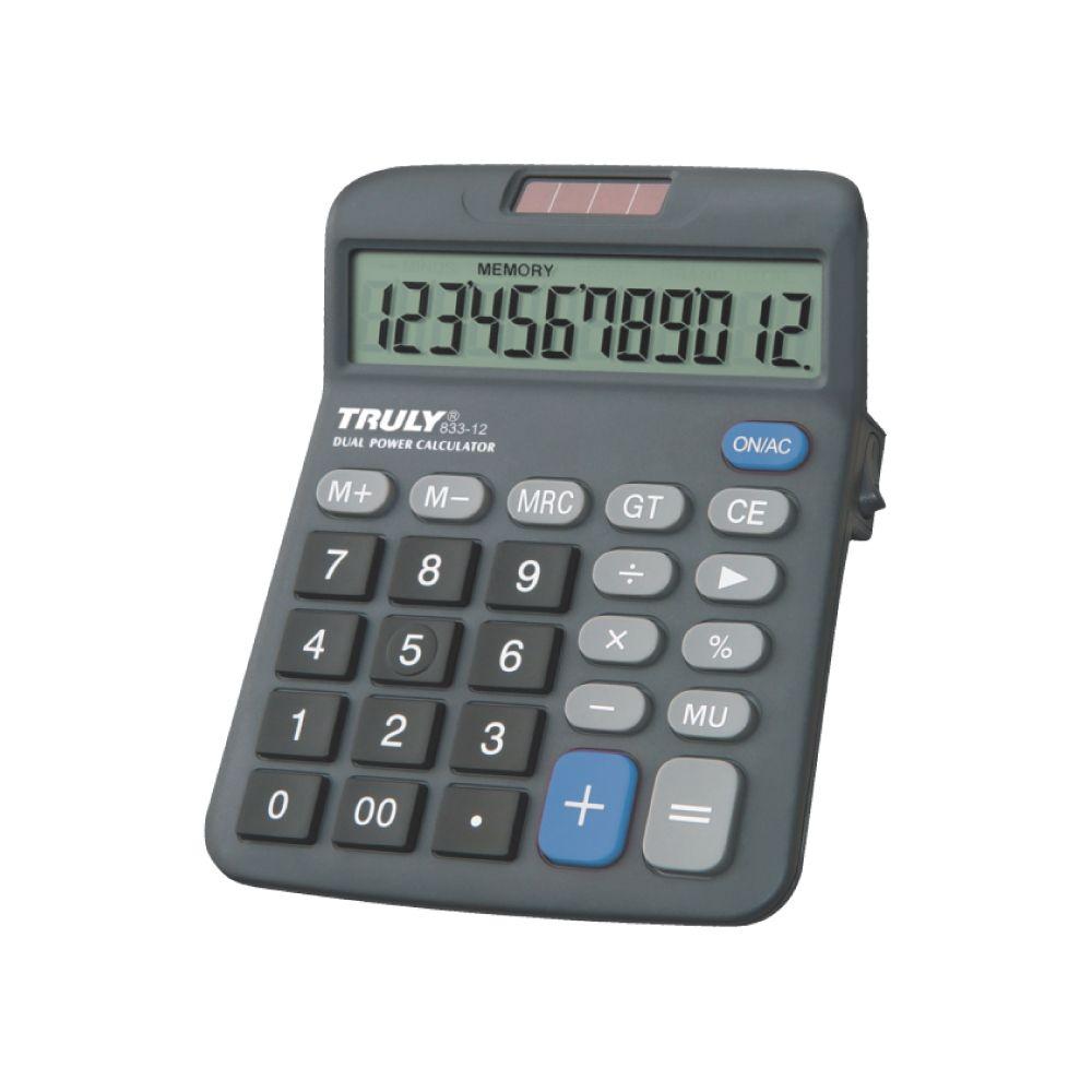 Calculadora de Mesa 12 Dígitos  833-12 Truly