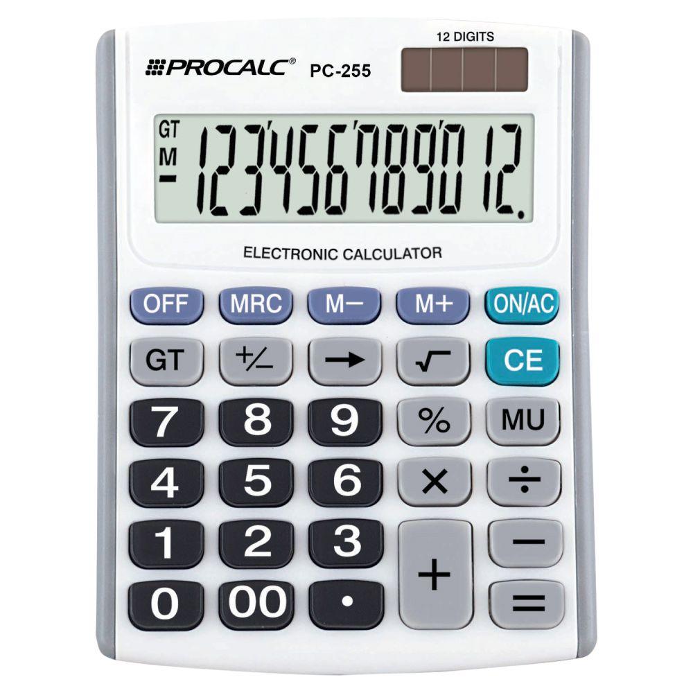 Calculadora de Mesa PC255