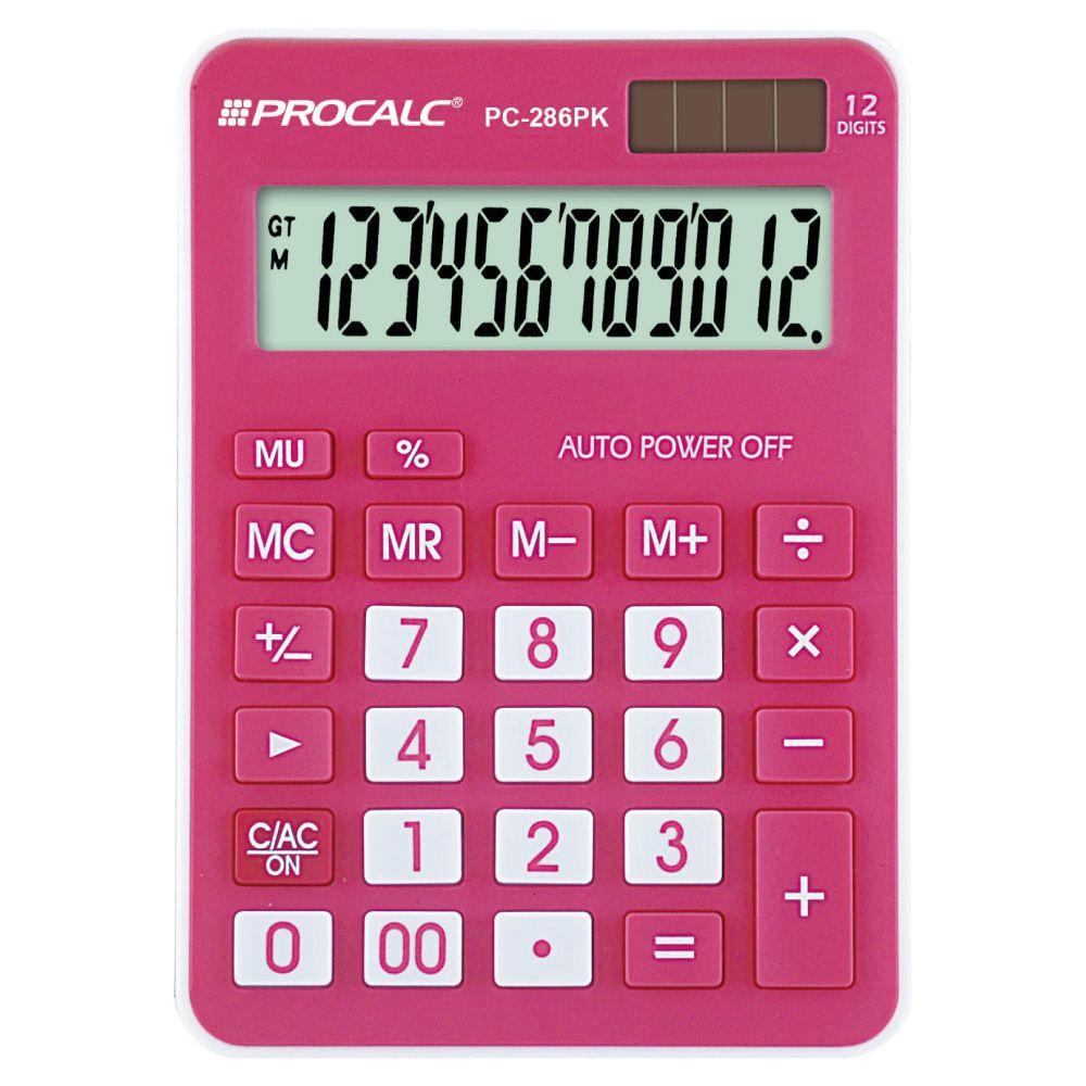 Calculadora de Mesa PC286PK