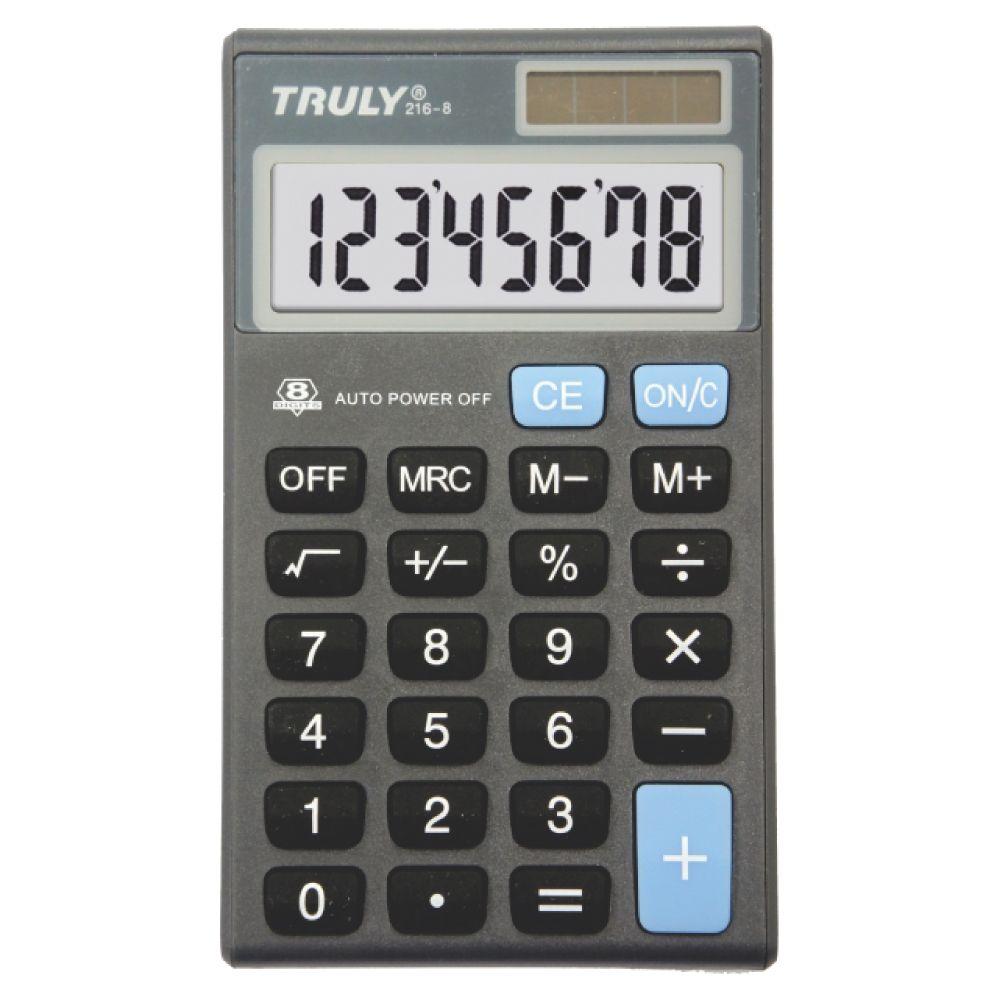 Calculadora Pessoal 8 Dígitos - 216-8