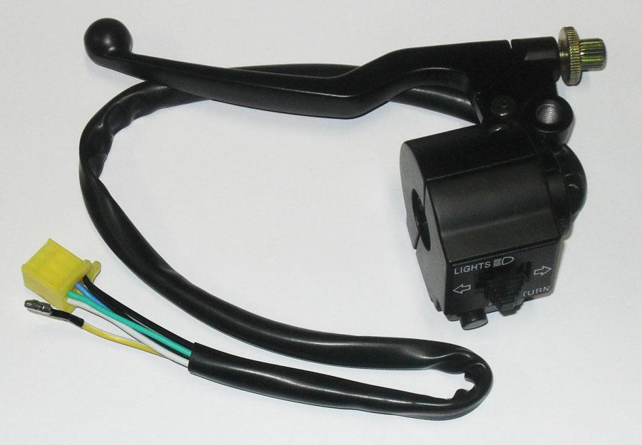Interruptor LUZ YES ATÉ 07 / Intruder 125 ATE 2010 ESQ (magnetron)