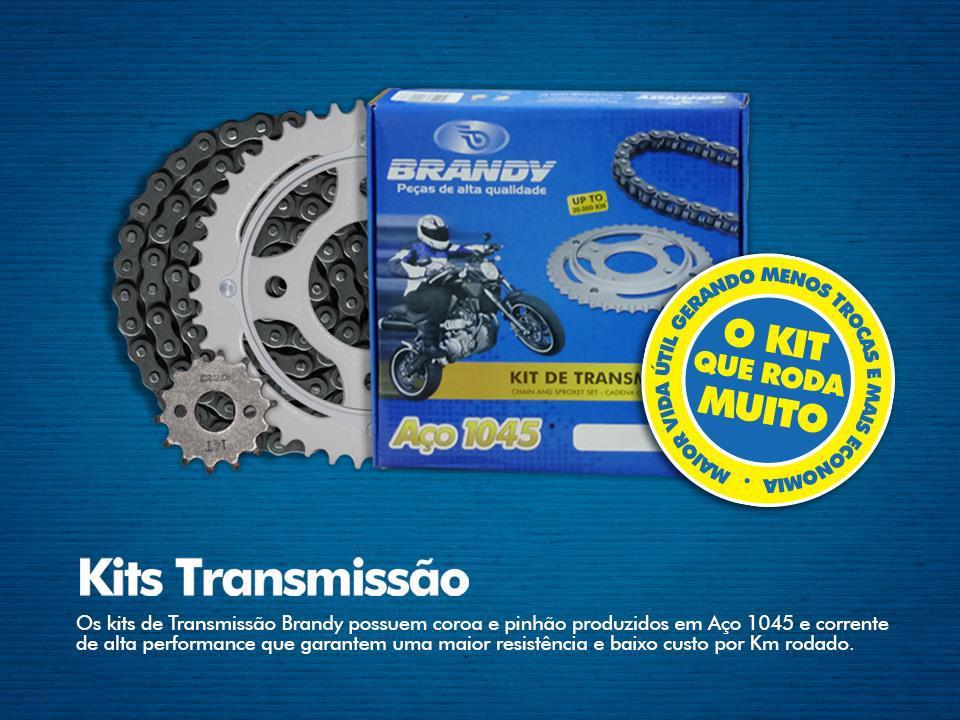 Kit Relação NEXT 250 35X13 - 520HO106 com Retentor Dourada (BRANDY)