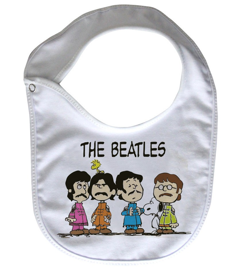 Babador  Rock Baby  - Beatles Snoop - White  - Baby Monster S/A