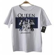 Camiseta  Infantil Rock - Queen Caricato - White