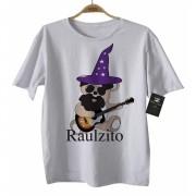 Camiseta de Rock Infantil - Raul Seixas - Ursinho Cute - White