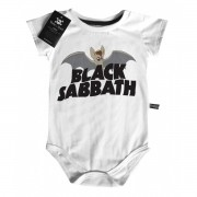 Body Rock   Black Sabbath Morcego - White