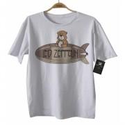 Camiseta  Rock   Led Zeppelin Cute - D - White