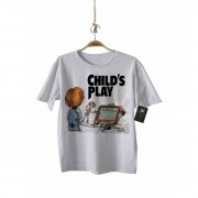 Camiseta Rock   Boneco Assassino - Toy Story - White
