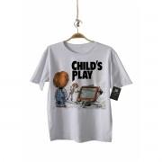 Camiseta Rock   Boneco Assassino - Toy Story - White