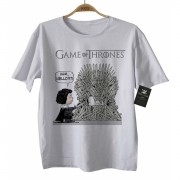 Camiseta de Filme - Infantil - Game of Thrones/Snoop - White