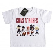 Camiseta Guns n Roses  Caricature - White