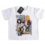 Camiseta Bebê Led Zeppelin - Caricature - White