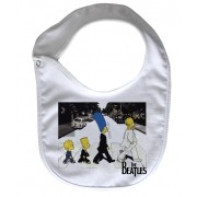 Babador  ROck Baby  - Beatles  SImpsons - White
