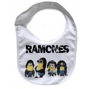 Babador  Rock Baby  - Ramones Minions D- White