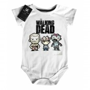 Body Bebê the walking dead - White