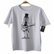 Camiseta de Rock Infantil - Slash - Guns n Roses - White