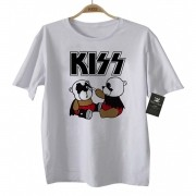 Camiseta de Rock infantil - Kiss - Cute - White