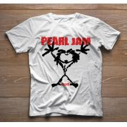 Camiseta de Rock Infantil - Pearl Jam - White