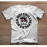 Camiseta de Rock Infantil - Red Hot Chilli Peppers - White