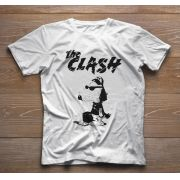 Camiseta de Rock Infantil - The Clash - White