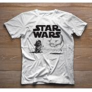 Camiseta Infantil Filmes - Star Wars - White