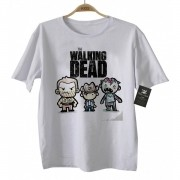 Camiseta Infantil Série - The Walking Dead - White