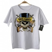 Camiseta de Rock Infantil - Guns n Roses - White