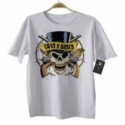 Camiseta de Rock Infantil - Guns n Roses - White