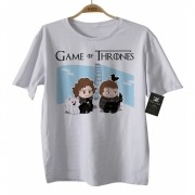 Camiseta de Filme - Infantil - Game of Thrones - White
