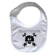 Babador Baby Rock - Iron Maiden - White