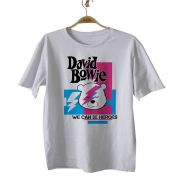 Camiseta  Infantil Rock - David Bowie - White