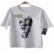 Camiseta  Infantil Rock - Queen - White