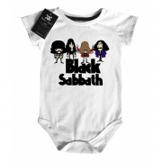 Body Baby Rock - Black Sabbath - Caricato- White