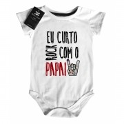 Body Baby Rock - Rock com o Papai - White