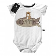 Body Rock   Led Zeppelin Cute - D- White