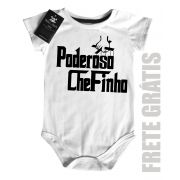 Body Baby Divertido - Poderoso Chefinho - White