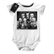 Body Baby ou Camiseta Infantil  Classe do Terror CUte white